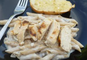 Rosemary Chicken with Penne