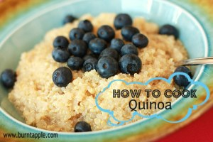 how do you cook quinoa