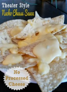 Theater Style Nacho Cheese Sauce