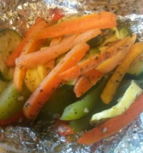 Mediterranean Grilled Veggies + Giveaway