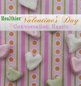 healthy valentines conversation hearts