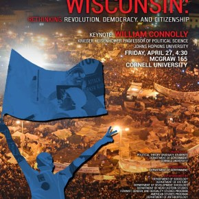 From Meydan Tahrir to Wisconsin: Rethinking Revolution, Democracy and Citizenship
