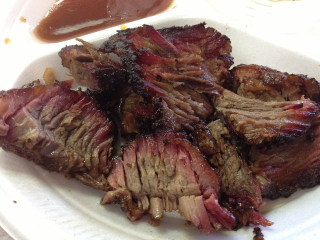 Brisket perfection at Snow's