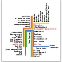 Hyperlinear BART Map