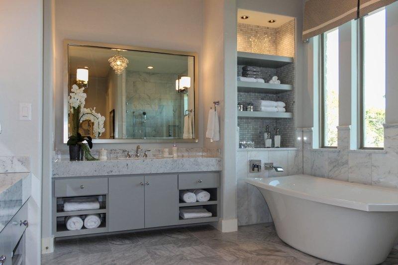 Large Of Gray Bathroom Vanity
