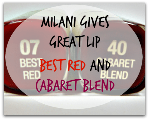 Milani Best Red Cabaret Blend title
