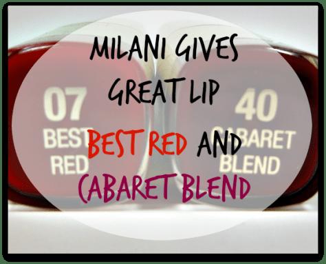 Milani Best Red Cabaret Blend title