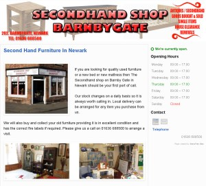 Barnby Gate Second Hand Shop