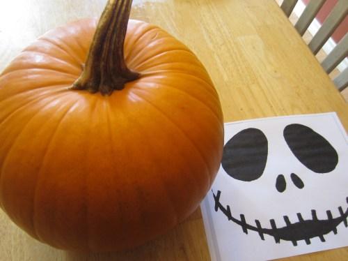 Medium Of Jack Skellington Pumpkin Carving