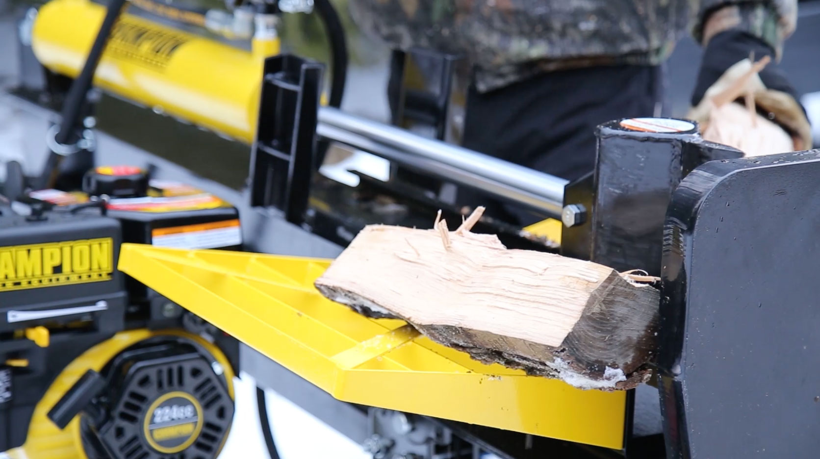 discussion champion 25 ton log splitter