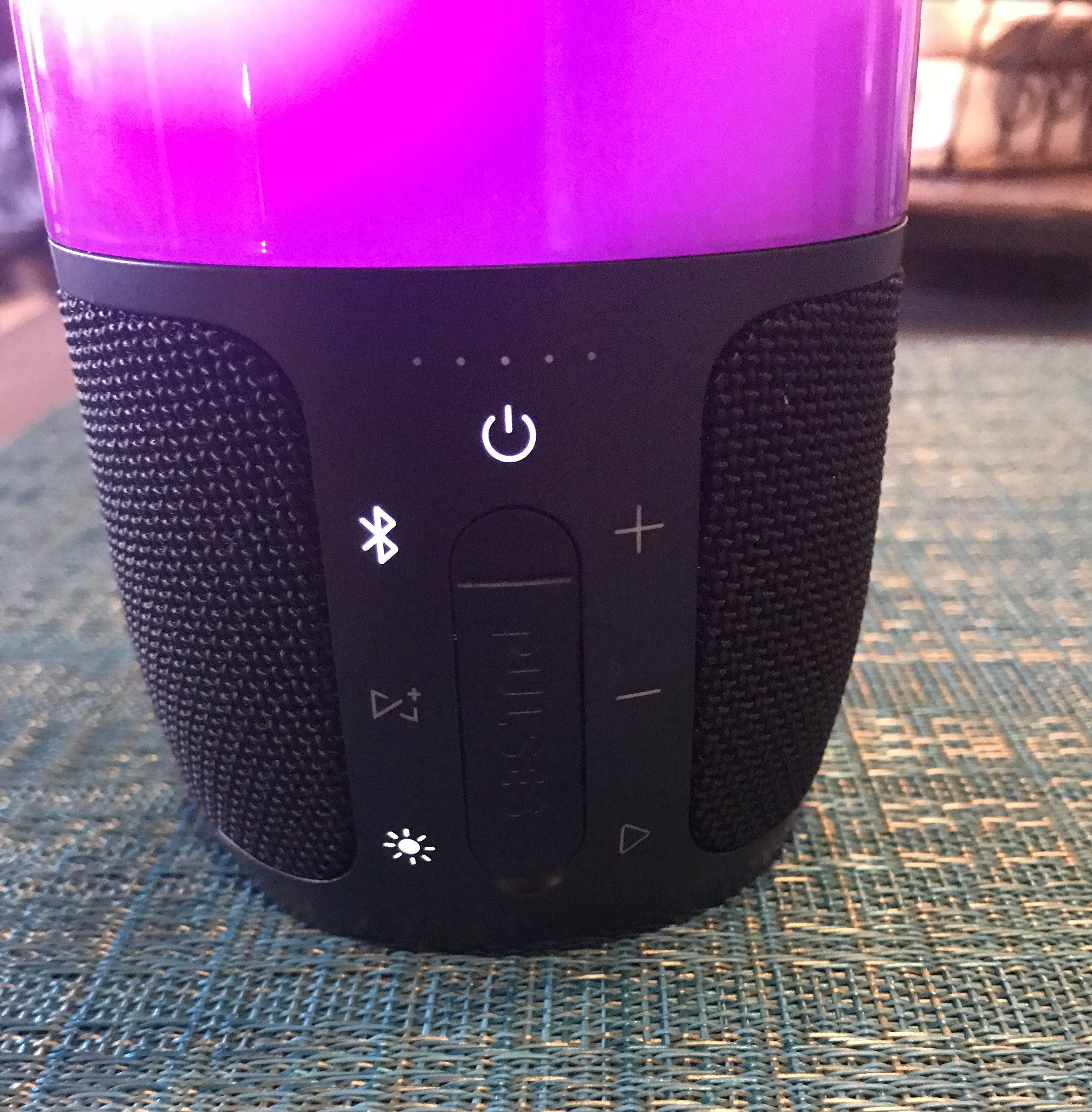 Jbl pulse 3 bluetooth speaker tech review busted wallet for Housse jbl pulse 3