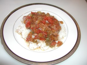 Slow Cooker Spicy Creole Chicken and Rice