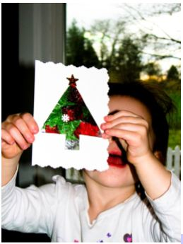 Christmas craft tutorial 9