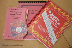 Giveaway: Teach your Children to Read with Alpha-Phonics