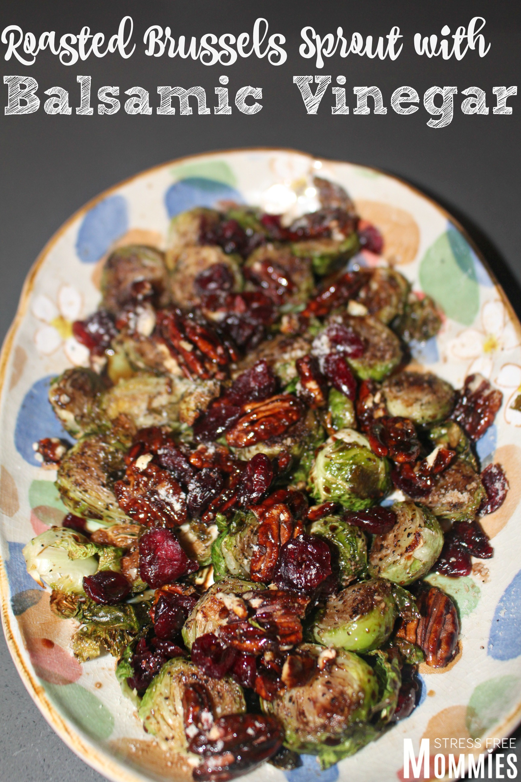 brussels sprout with balsamic vinegar