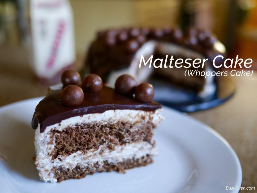 malteser cake whoppers cake. Black Bedroom Furniture Sets. Home Design Ideas