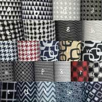 Pusat Jilbab Monochrome motif terbaru