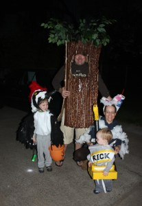 Halloween 2011 family picture