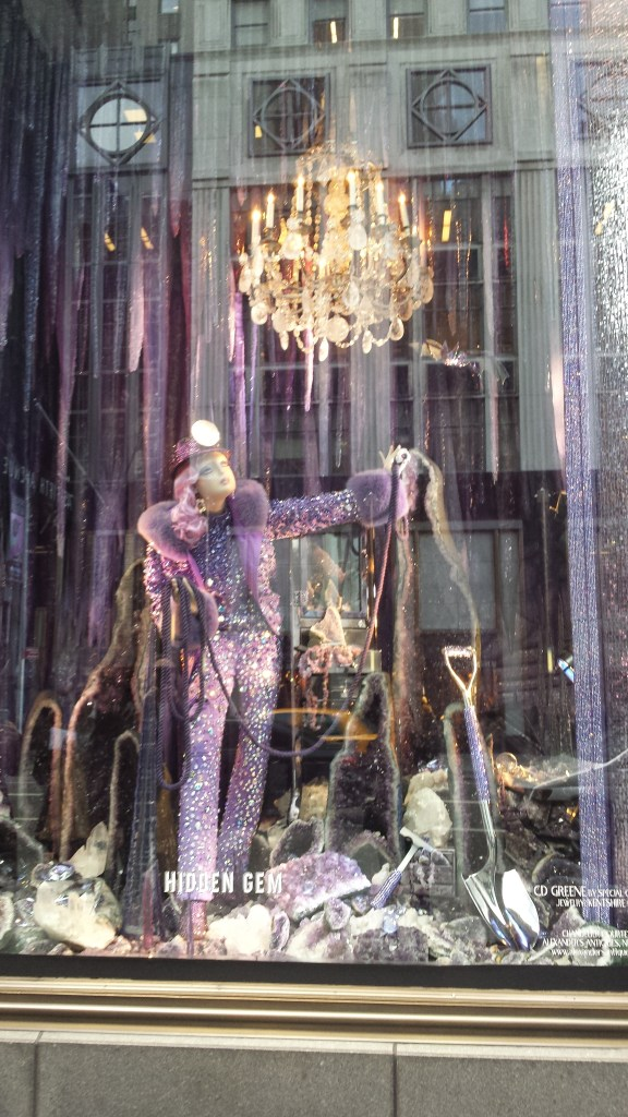 bergdorf purple window