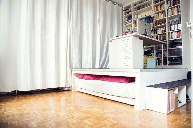 wie wir uns ein podest bauen butterflyfish. Black Bedroom Furniture Sets. Home Design Ideas