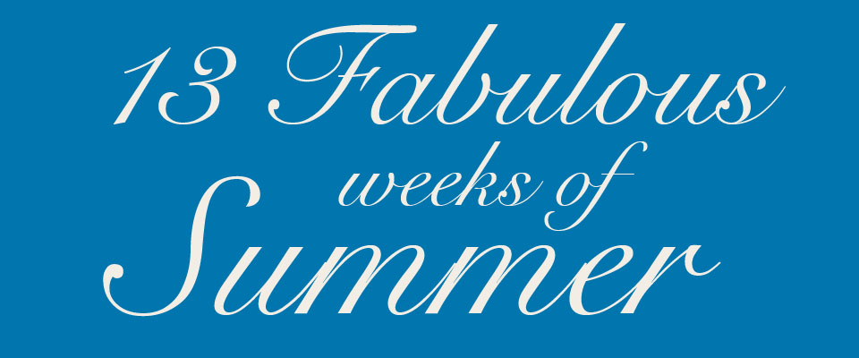 13 Weeks of Summer Calendar