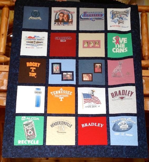 T Shirt Quilt Photo