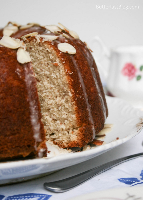 Buttermilk Almond Bundt Cake - Butterlust