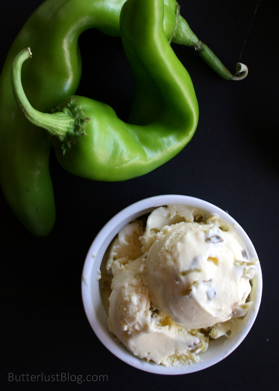 Sweet Corn & Candied Hatch Chile Ice Cream