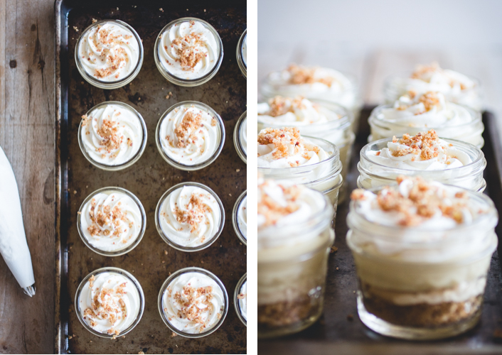 Elvis-Style Mini Banana Puddings (Banana, Peanut Butter + Bacon) // butterlustblog.com