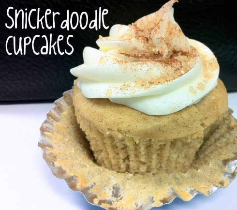 Snickerdoodle Cupcakes I Butterlust Blog