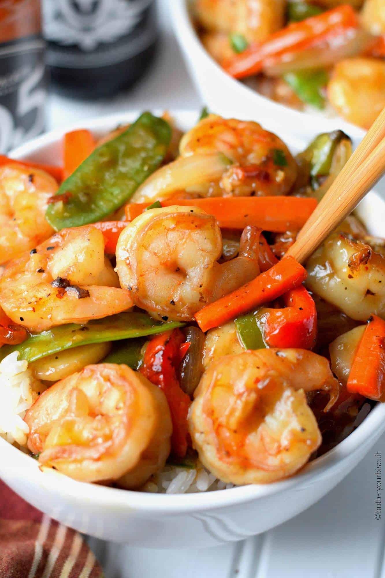 Watch Shrimp with Sugar Snap Peas video