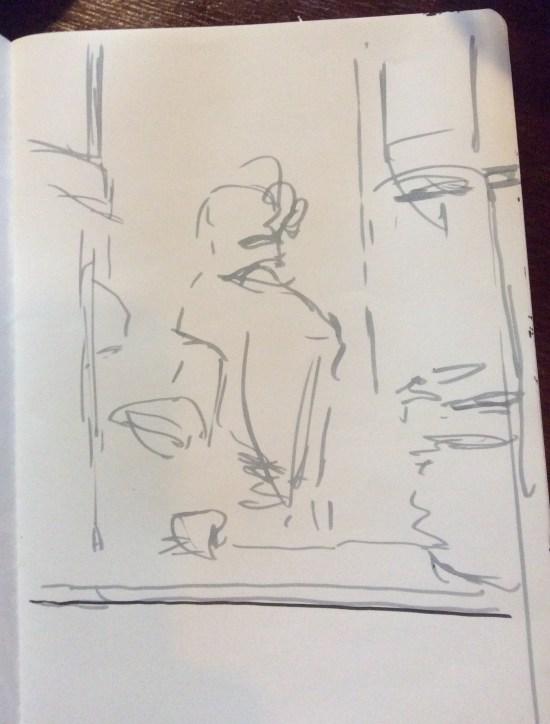 Sketch of K