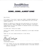 Poets and Writers Magazine: A comparison in copy