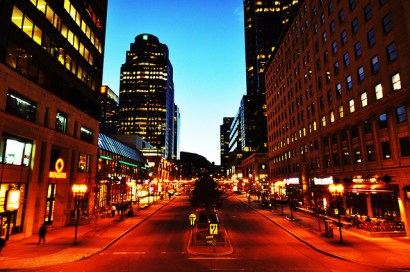 Downtown Montreal (photo by Flickr user Ames Lai)