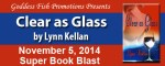 Clear as Glass: An excerpt and #giveaway from Lynn Kellan