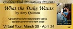 What the Duke Wants: An excerpt + #giveaway from Amy Quinton