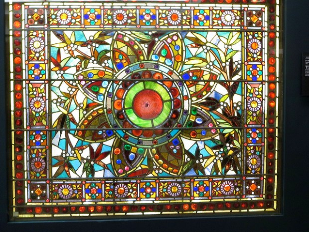 """""""Victorian Stained Glass"""" image by Flickr user Ann Fisher"""
