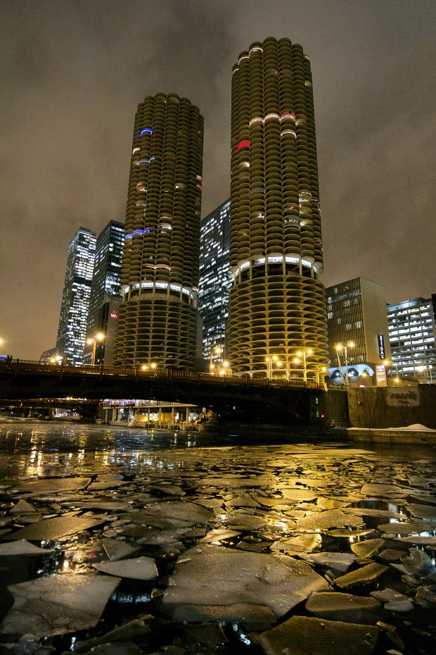 """Marina City"" image by Flickr user vonderauvisuals"
