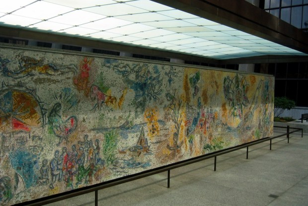 """""""Chicago - Chagall's Four Seasons"""" image by Flickr user Wally Gobetz"""