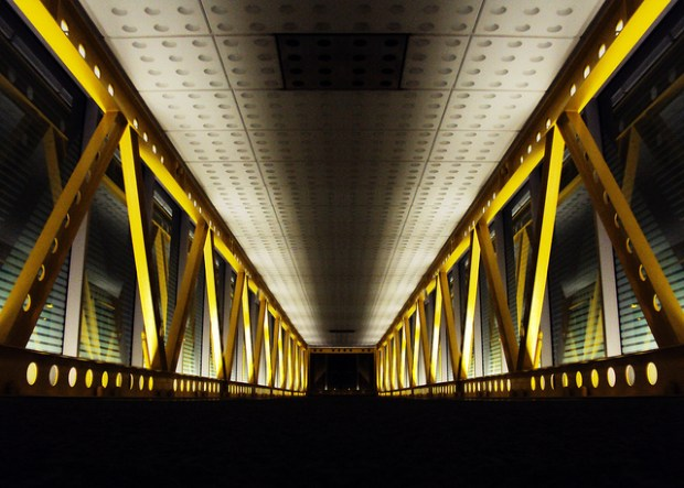 """""""The Ominous Pedway"""" image by Flickr user Justin Escamilla"""