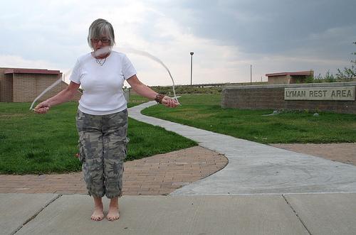 """""""Jumpin' rope on I-80"""" via Flickr user Tom Kelly"""