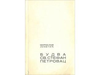 Naslovna strana knjige Budva Sveti Stefan Petrovac 445
