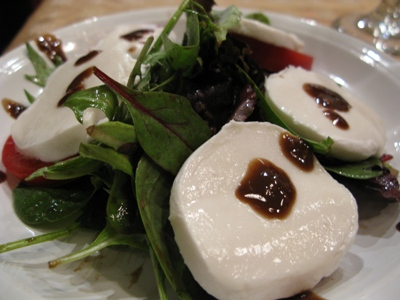 Dijon Balsamic Salad with Tomatoes and Mozzarella