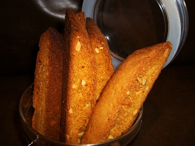 Cake Batter Almond Biscotti Recipe