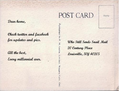 Medium Of How To Write A Postcard
