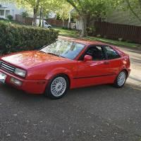 Beautiful Red Corrado VR6
