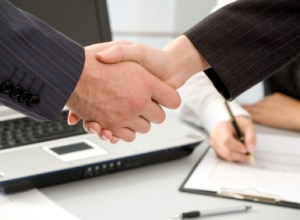 Handshake interdependence buyers sellers cooperation