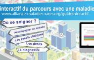 Lancement du Guide interactif du parcours avec une maladie rare