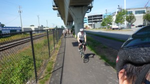 """""""Biking the Central Valley Greenway"""" by Joming is licensed under CC BY-NC 2.0."""