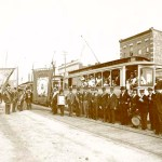 New Westminster streetcar opening June 3, 1891